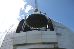 Installation of Shvabe mirror at Large Altazimuth Telescope (BTA)  started in Karachay-Cherkessia