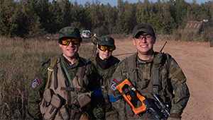 Оптику «Швабе» испытали в игре «Война: Сутки на броне – 2018»
