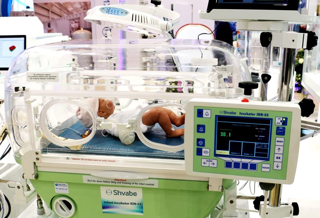 shvabe supplied neonatal equipment to the research and development