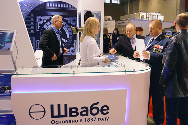 Холдинг «Швабе» презентовал передовые разработки в области оптического приборостроения на XX Международной выставке средств обеспечения безопасности государства «ИНТЕРПОЛИТЕХ», которая проходила с 18 по 21 октября в Москве на территории ВДНХ.