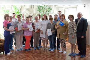 Активные участники донорского движения «Швабе» получили награды