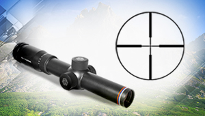 The first Russian glass-free reticle developed in Schvabe
