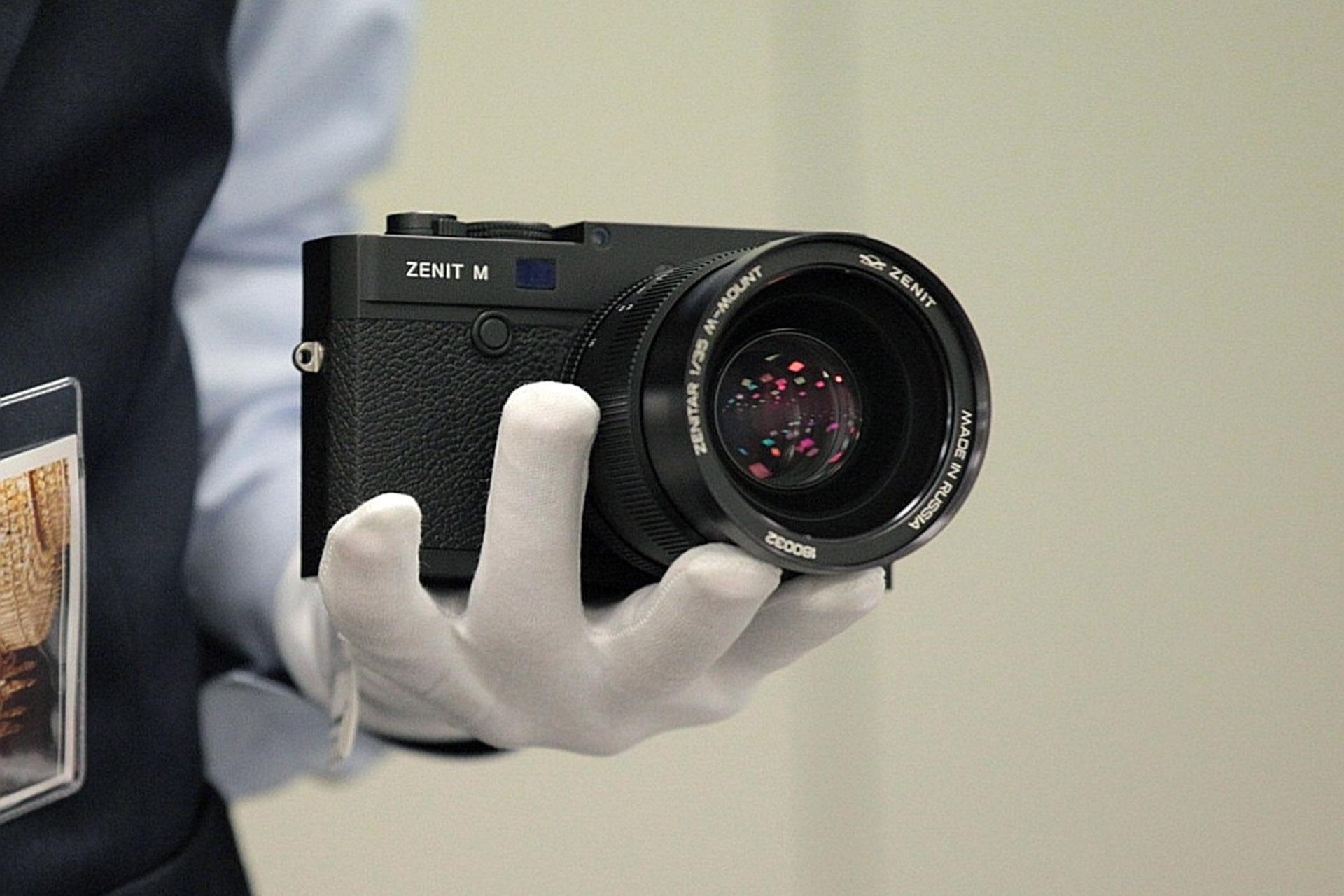 в россии возродят фотоаппараты зенит садоводов