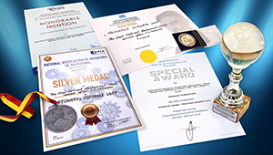 Shvabe was awarded four medals for 'Bonnie' incubator in the Czech Republic