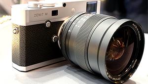 Российскую фототехнику «Зенит» показывают на выставке в Шанхае