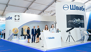 Shvabe showcases its aviation solutions at MAKS-2021