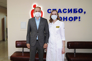 Сотрудники «Швабе» признаны лучшими донорами Вологды