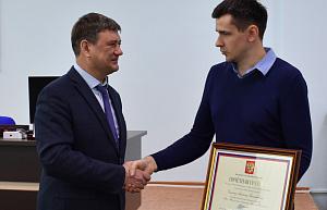 Специалист «Швабе» удостоен награды президента России
