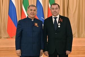 Сотрудник «Швабе удостоен государственной награды Татарстана